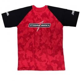 Camiseta Vermelha Camuflada - Integralmédica