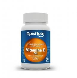 Suplemento De Vitamina E 60 Caps - Oil 250mg